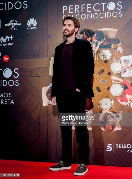 Manuel Velasco attends 'Perfectos Desconocidos' premiere at the Capitol Cinema on November 28 2017 in Madrid Spain