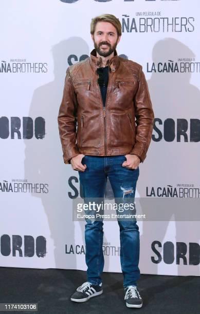 Manuel Velasco attends 'Sordo' premiere at the Capitol cinema on September 11 2019 in Madrid Spain