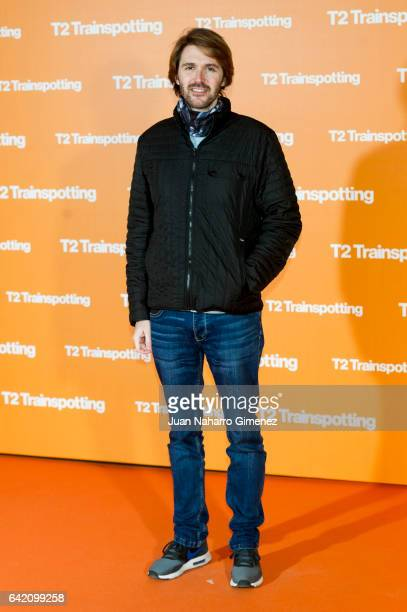 Manuel Velasco attends 'T2 Trainspotting' premiere at Sony Pictures building on February 16 2017 in Madrid Spain