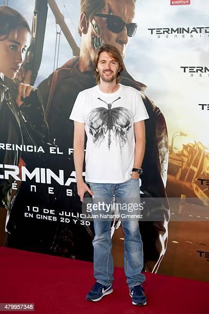 Manuel Velasco attends 'Terminator Genesis' premiere at Kinepolis Cinema on July 8 2015 in Madrid Spain