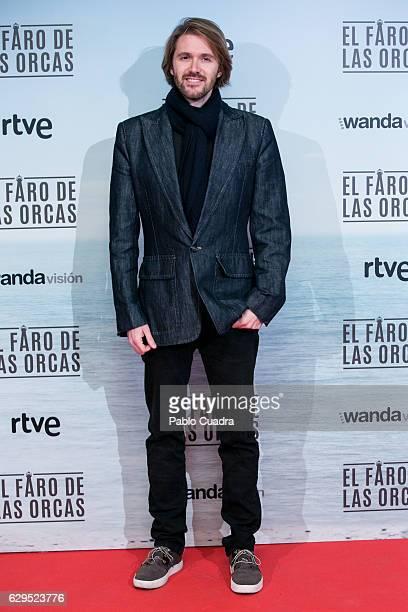 Manuel Velasco attends the 'El Faro de las Orcas' premiere at Capitol Cinema on December 13 2016 in Madrid Spain