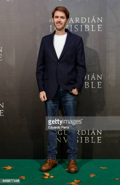 Manuel Velasco attends the 'El guardian invisible' premiere at Capitol cinema on March 1 2017 in Madrid Spain
