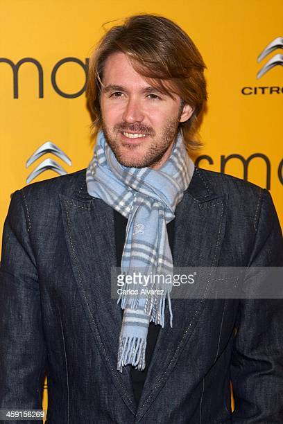 Manuel Velasco attends the Ismael premiere at the Capitol cinema on December 23 2013 in Madrid Spain