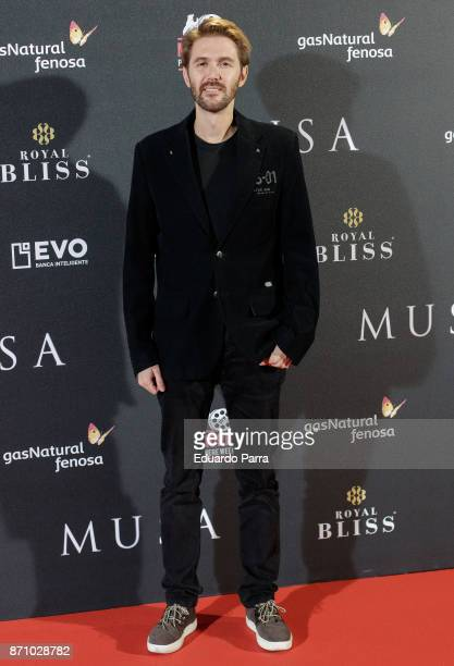 Manuel Velasco attends the 'Musa' premiere at Capitol cinema on November 6 2017 in Madrid Spain