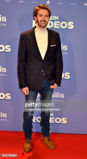 Manuel Velasco attends the photocall premiere of 'Sin Rodeos' at the capitol cinema on February 28 2018 in Madrid Spain