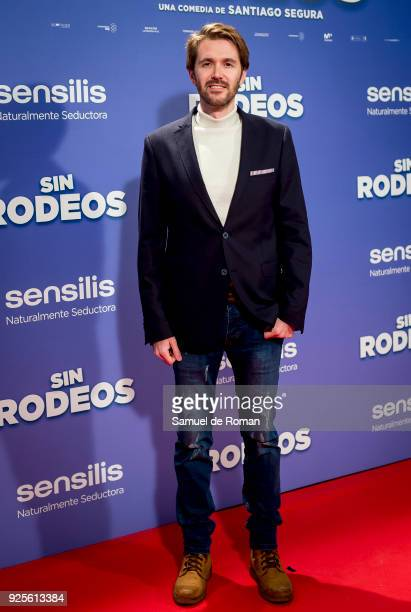 Manuel Velasco attends the 'Sin Rodeos' Madrid premiere on February 28 2018 in Madrid Spain