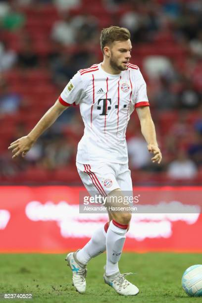 Manuel Wintzheimer of Bayern Muenchen runs with the ball during the International Champions Cup 2017 match between Bayern Muenchen and Inter Milan at...