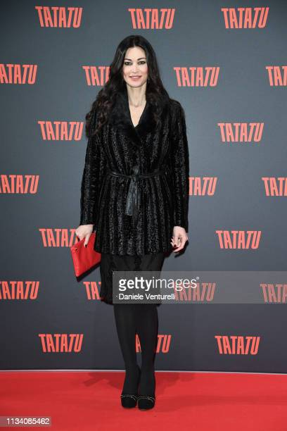 Manuela Arcuri attends TATATU Cocktail Party on March 06 2019 in Rome Italy