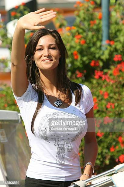 Manuela Arcuri during The 63rd International Venice Film Festival Sightings September 2 2006 in Venice Lido Italy