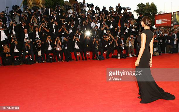 Manuela Arcuri during The 63rd International Venice Film Festival The Queen Premiere Red Carpet and Inside at Palazzo Del Cinema in Venice Lido Italy