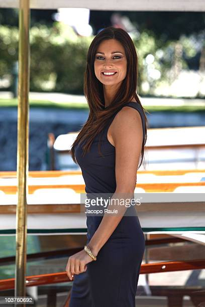 Manuela Arcuri is seen during the opening day of the 67th Venice Film Festival on September 1 2010 in Venice Italy