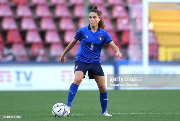 Manuela Giugliano of Italy Women in action during the FIFA Women's World Cup 2023 Qualifier group G match between Italy and Moldova at Stadio Nereo...
