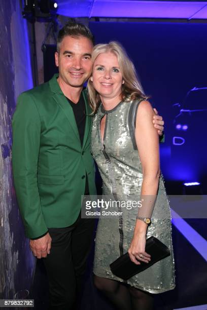 Manuela KamppWirtz and her husband during the New Faces Award Style 2017 at 'The Grand' hotel on November 15 2017 in Berlin Germany