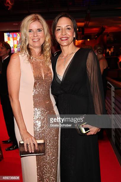 Manuela KamppWirtz director Burda Style Group and Petra Pfaller during the Bambi Awards 2014 on November 13 2014 in Berlin Germany