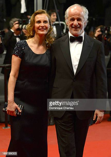 Manuela Lamanna and Toni Servillo attend the Premiere of 'La Grande Bellezza' during The 66th Annual Cannes Film Festival at Palais des Festivals on...