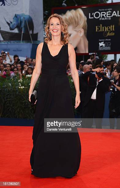 "Manuela Lamanna attends ""Bella Addormentata"" Premiere during The 69th Venice Film Festival at the Palazzo del Cinema on September 5, 2012 in Venice,..."