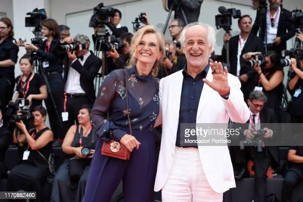 Manuela Lamanna, Toni Servillo at the 76th Venice International Film Festival 2019. Opening ceremony and premiere of the film La Veritè. Venice ,...