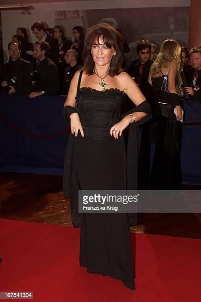 Manuela Maske Bei Bambi 2001 Verleihung In Berlin