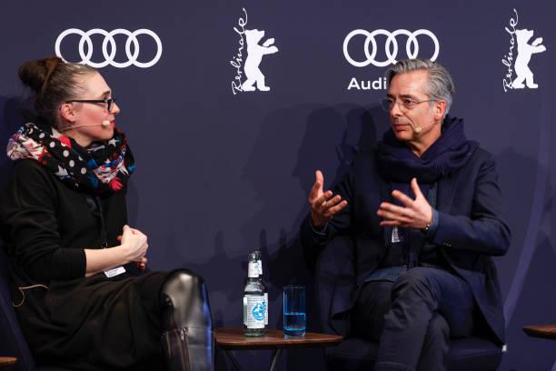 """DEU: Berlinale Open House Panel """"Visionen Und Grenzen Der Vernetzung Im Digitalen Zeitalter"""" - Audi At The 70th Berlinale International Film Festival"""