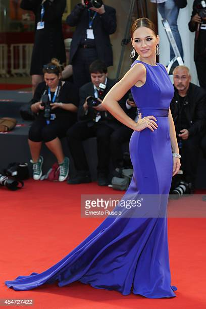 Manuela Postacchini attends 'Good Kill' Premiere during the 71st Venice Film Festival on September 5 2014 in Venice Italy