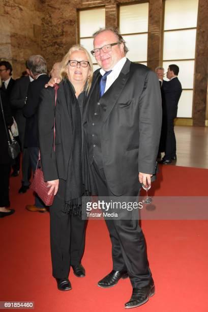 Manuela Stehr and Stefan Arndt attend the CIVIS Media Award 2017 on June 1 2017 in Berlin Germany