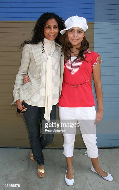 Manuela Testolini and Alexandra Rose Rieger during 2007 CARE Awards Presented by the Bizparentz Foundation Portraits at Universal Hollywood Globe...