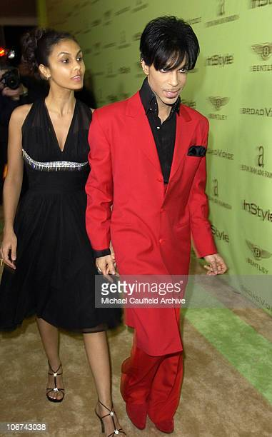 Manuela Testolini and Prince during 12th Annual Elton John AIDS Foundation Oscar Party Cohosted by In Style Arrivals at Pearl in West Hollywood...