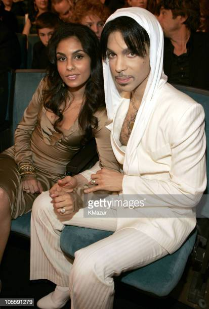 Manuela Testolini and Prince during 31st Annual People's Choice Awards Backstage and Audience at Pasadena Civic Auditorium in Pasadena CA United...