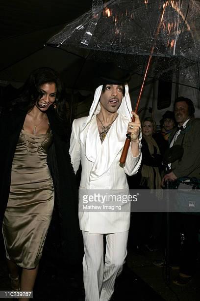 Manuela Testolini and Prince during 31st Annual People's Choice Awards Behind the Scenes at Pasadena Civic Auditorium in Pasadena California United...