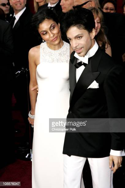 Manuela Testolini and Prince during The 77th Annual Academy Awards Arrivals at Kodak Theatre in Los Angeles California United States