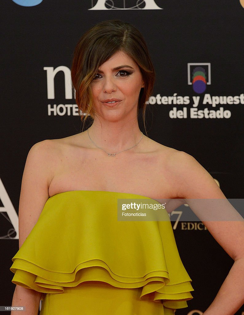 85615adcf Manuela Velasco attends Goya Cinema Awards 2013 at Centro de... News ...