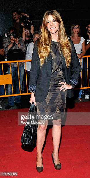 Manuela Velasco attends the premiere of 'The Road' at the 42nd Sitges Film Festival on October 11, 2009 in Barcelona, Spain.