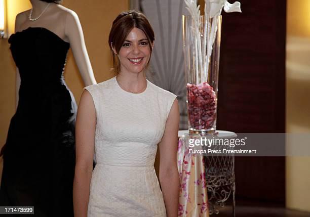 Manuela Velasco is seen on set filming 'Galerias Velvet' on June 24 2013 in Madrid Spain
