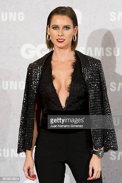 Manuela Velles attends 'GQ Men Of The Year Awards 2016' photocall at Palace Hotel on November 3 2016 in Madrid Spain