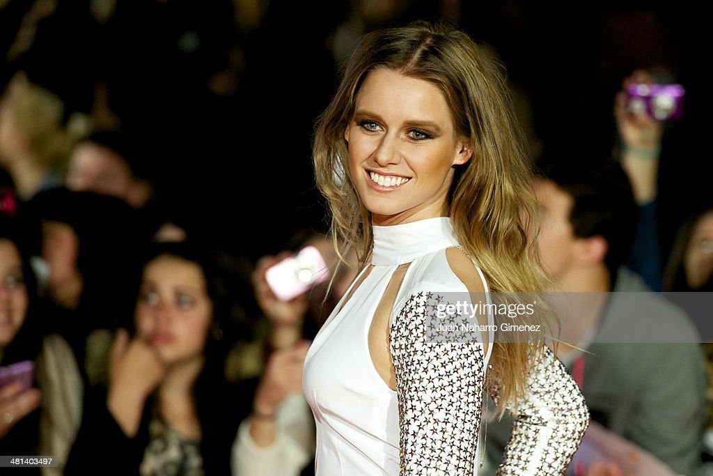 Manuela Velles attends the 17th Malaga Film Festival 2014 closing ceremony at the Cervantes Theater on March 29, 2014 in Malaga, Spain.