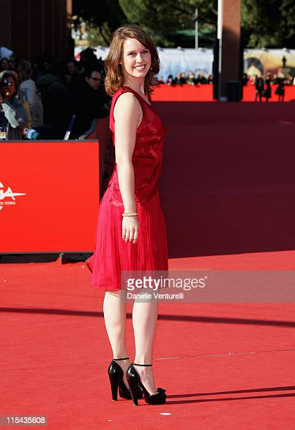 Manuela Velles attends the 'Caotica Ana' premiere during Day 4 of the 2nd Rome Film Festival on October 21 2007 in Rome Italy