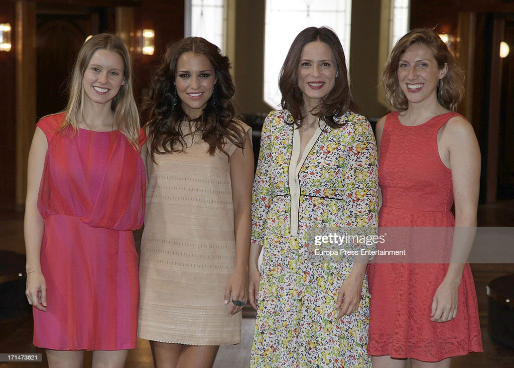 'Galerias Velvet' On Set Filming in Madrid : News Photo