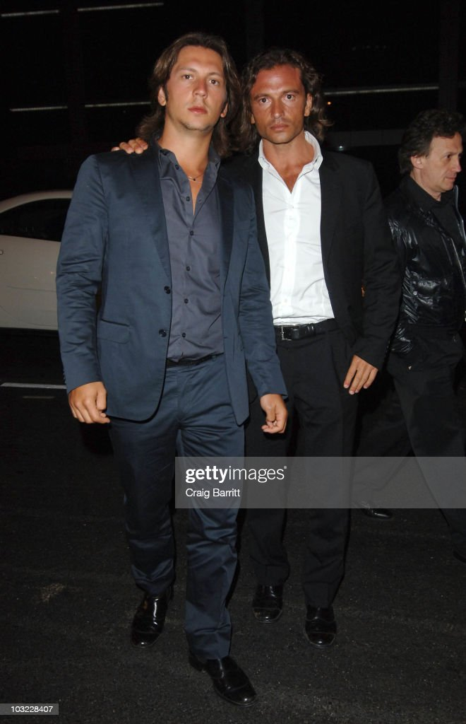 Manuele And Michele Malenotti Host The Expendables After - Party