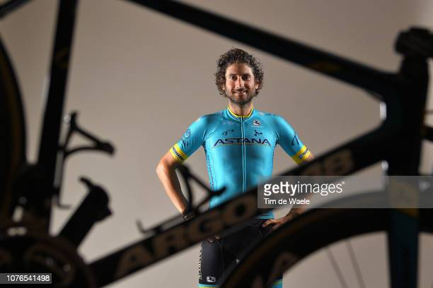 Manuele Boaro of Italy and Astana Pro Team / Argon 18 Bike / Silhouette / Detail view / on December 17 2018 in Altea Spain