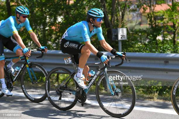 L'AQUILA ITALY MAY 17 Manuele Boaro of Italy and Astana Pro Team / during the 102nd Giro d'Italia 2019 Stage 7 a 185km stage from Vasto to L'Aquila...