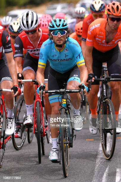 Manuele Boaro of Italy and Astana Pro Team / during the 21st Santos Tour Down Under 2019 Stage 2 a 1221km stage from Norwood to Angaston / TDU / on...