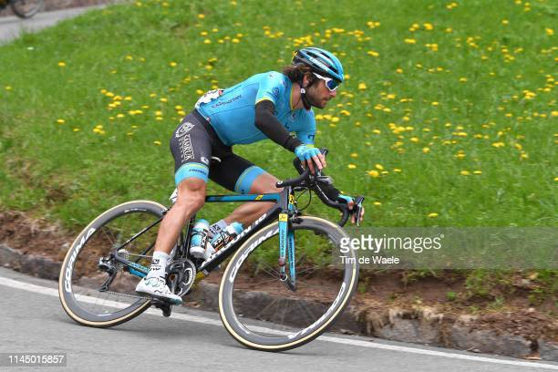 Manuele Boaro of Italy and Astana Pro Team / during the 43rd Tour of the Alps 2019 Stage 4 a 134km stage to Baselga di Piné to Viale De Gasperi Cles...