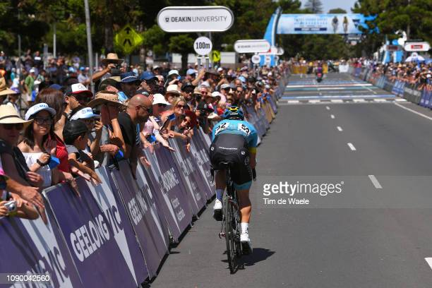 Manuele Boaro of Italy and Astana Pro Team / Fans / Public / during the 5th Cadel Evans Great Ocean Road Race Elite Men a 163km race from Geelong to...