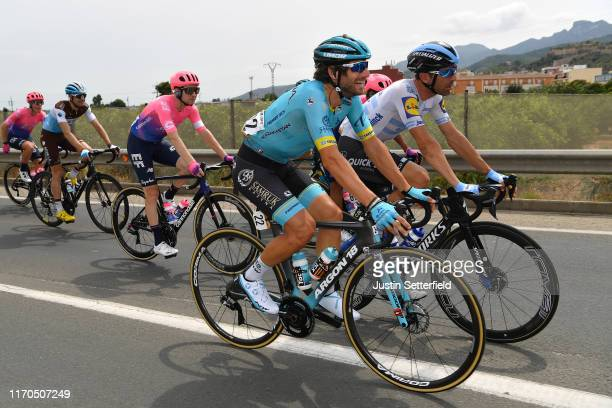 Manuele Boaro of Italy and Astana Pro Team / Maximiliano Ariel Richeze of Argentina and Team DeceuninckQuickStep / during the 74th Tour of Spain 2019...