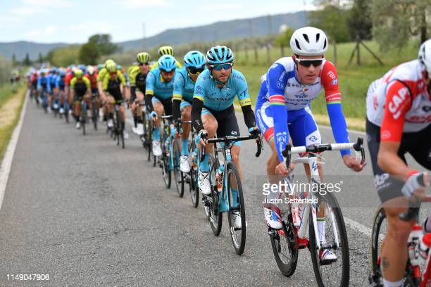 Manuele Boaro of Italy and Astana Pro Team / Peloton / during the 102nd Giro d'Italia 2019, Stage 4 a 235km stage from Orbetello to Frascati 319m /...
