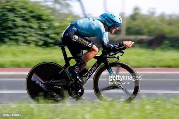 Manuele Boaro of Italy and Team Astana - Premier Tech competes during the 78th Tour de Pologne 2021, Stage 6 a 19km Individual Time Trial stage from...