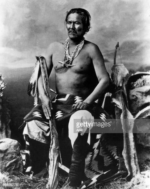 Manuelito Navajo war chief Navaho Indian indians 1874