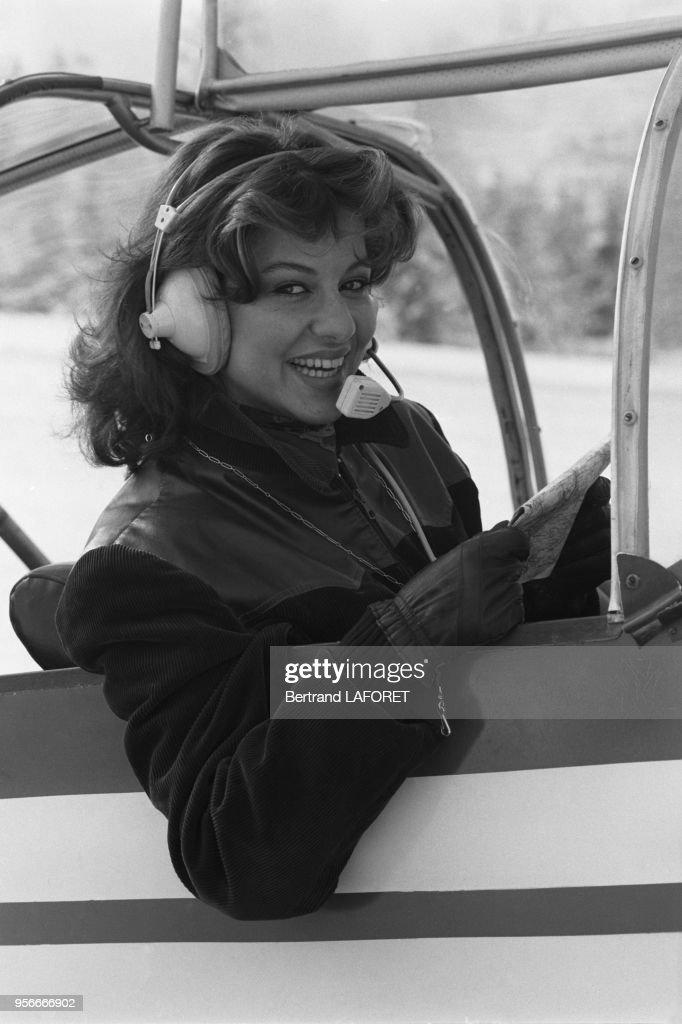 Manuella Papatakis à Méribel en 1977 : News Photo