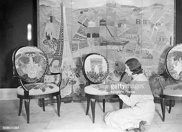 Manufacture de tapisseries de Beauvais France en 1932