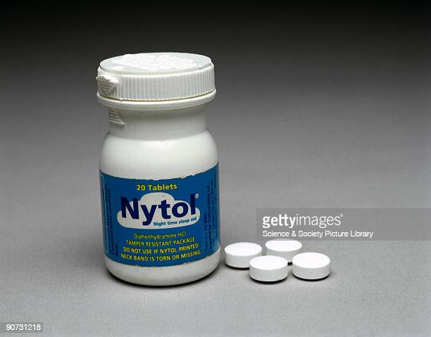 Manufactured by StaffordMiller Sleeping tablets are prescribed to patients who suffer from insomnia the inability to sleep Nytol is a brand name for...